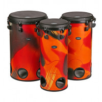 "GMP Set of 10""(25cm), 12""(30cm) AND 14""(35cm) Tubolo drums - TUBO SET 10C"