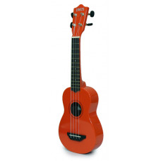 EMUS orange soprano ukulele - PSECU-8000