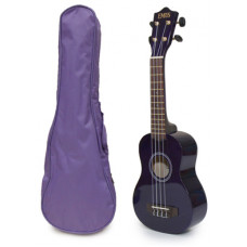 Purple Soprano Ukulele and Bag Package - EUB-3000