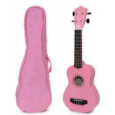 Pink Soprano Ukulele and Bag Package - EUB-4000