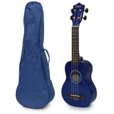 Blue Soprano Ukulele and Bag Package - EUB-6000