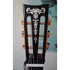 Gothic Torch inlay decal - Aged Pearly White - JIS-107