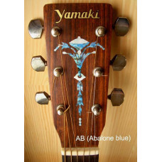 Old Torch inlay decal - Abalone Blue - JIS-111