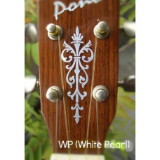 Small Torch inlay decal - Pearly White - JIS-114