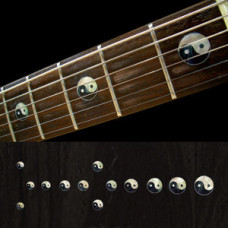 Fret marker inlay decals for Guitar - Yin & Yang - JIS-81